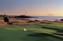 Golf At Turnberry Scotand
