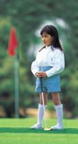 Young Girl Golfer