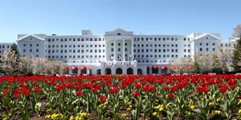 The Greenbrier Resort, White Sulphur Springs, West Virginia  front entrance