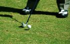 Golf swing setup