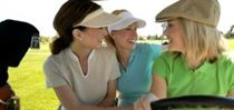 Women Golfers on a Cruise Vacation