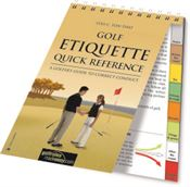 Golf Etiquette Quick Reference guide