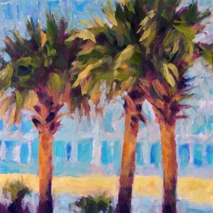 Backlit Palms - Carol Iglesias