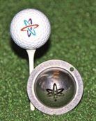 tin-cup ball marker