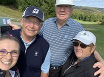 Golfers at The Tribute at Otsego Resort